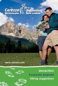 Wanderfibel Escursioni proposte Hiking suggestions