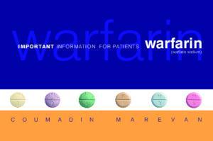 warfarin IMPORTANT INFORMATION FOR PATIENTS (warfarin sodium) page 1