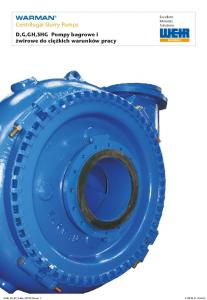 WARMAN Centrifugal Slurry Pumps