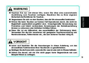 WARNUNG VORSICHT. DEUTSCH Deutsch