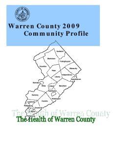 Warren County 2009 Community Profile