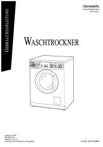 WASCHTROCKNER WD 1200 L