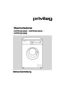 Waschvollautomat EXPRESS EXPRESS EXPRESS Gebrauchsanweisung