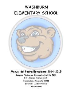 WASHBURN ELEMENTARY SCHOOL