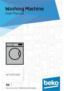Washing Machine User Manual