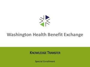 Washington Health Benefit Exchange