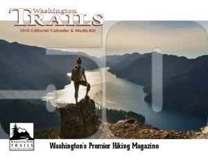 Washington s Premier Hiking Magazine