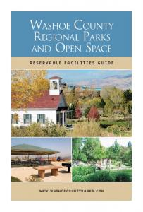 WASHOE COUNTY REGIONAL PARKS AND OPEN SPACE