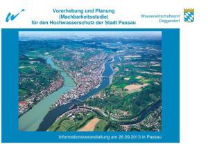 Wasserwirtschaftsamt Deggendorf. Inhalt