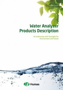 Water Analyzer Products Description