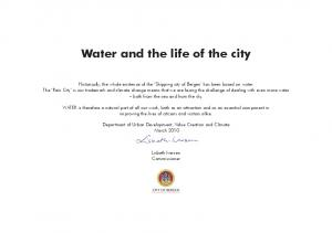 Water and the life of the city