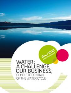WATER : OUR BUSINESS,
