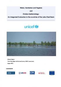 Water, Sanitation and Hygiene and Cholera Epidemiology: An Integrated Evaluation in the countries of the Lake Chad Basin