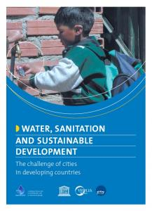WATER, SANITATION AND SUSTAINABLE DEVELOPMENT