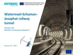 Watermael-Schuman- Josaphat railway tunnel