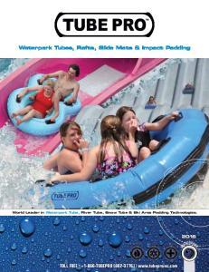 Waterpark Tubes, Rafts, Slide Mats & Impact Padding