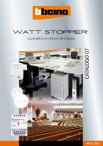 watt STOPPER INDICE 2 watt STOPPER