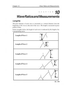 Wave Ratios and Measurements