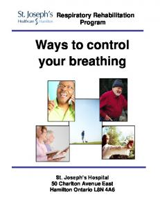 Ways to control your breathing