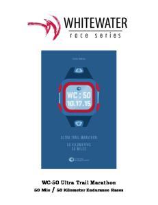 WC-50 Ultra Trail Marathon