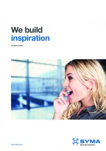 We build inspiration. Company Profile