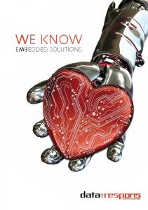 WE KNOW EMBEDDED SOLUTIONS