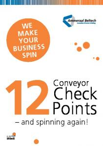 WE MAKE YOUR BUSINESS SPIN. Conveyor. Check. and spinning again!