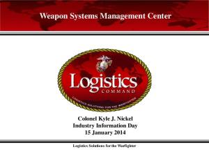 Weapon Systems Management Center