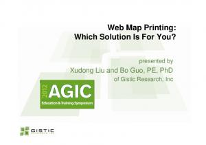 Web Map Printing: Which Solution Is For You?
