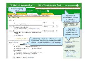 Web of Knowledge Ana Sayfa