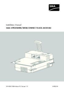 WEBCONNECT DATA MODULE