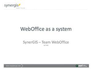 WebOffice as a system