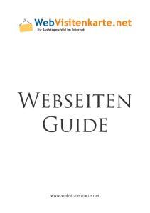 Webseiten Guide