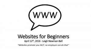 Websites for Beginners