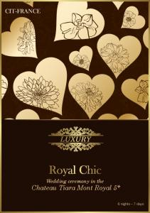 Wedding ceremony in the. Chateau Tiara Mont Royal 5* 6 nights 7 days