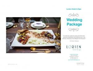 Wedding Package. Lorien Hotel & Spa