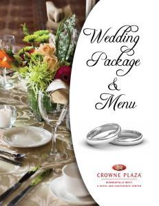 Wedding Package & Menu