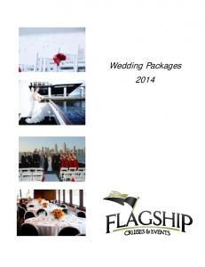 Wedding Packages 2014