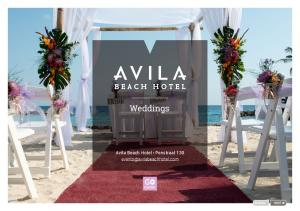 Weddings. Avila Beach Hotel Penstraat 130