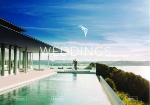 WEDDINGS. Luxurious Capacities Dining