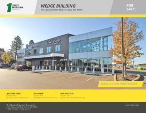 WEDGE BUILDING 4733 Tacoma Mall Blvd, Tacoma, WA 98409