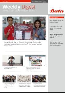 Weekly Digest News from around Bata World