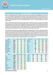 Weekly Investment Report