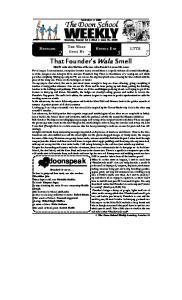 WEEKLY Saturday, October Issue No. 2325
