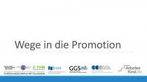 Wege in die Promotion