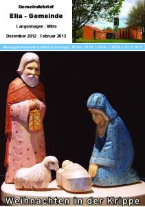 Weihnachten in der Krippe