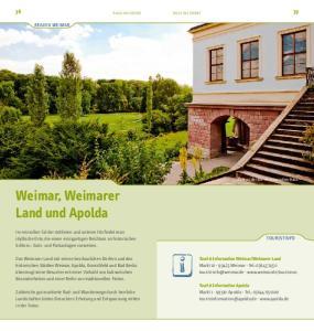 Weimar, Weimarer Land und Apolda