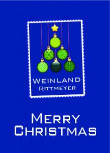 Weinland. Rittmeyer. Merry Christmas