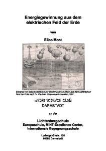 WEIRD SCIENCE CLUB DARMSTADT