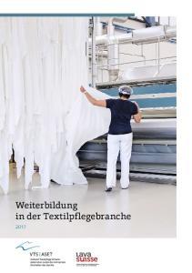 Weiterbildung in der Textilpflegebranche